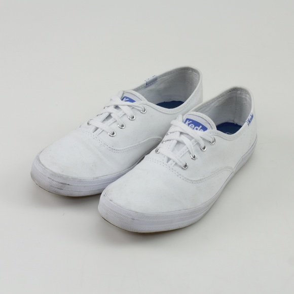 329e097aa63 Keds Shoes - Keds Champion Original White Canvas Shoes    6.5